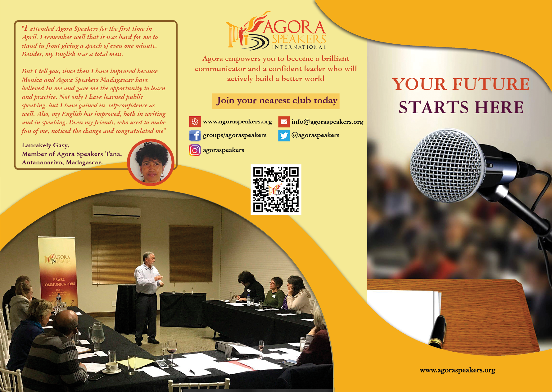 agora speakers international